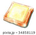 パン 食パン チーズのイラスト 34858119