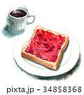パン 洋食 食パンのイラスト 34858368