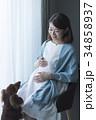 妊婦さん 34858937
