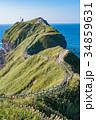 《北海道》神威岬・自然風景 34859631