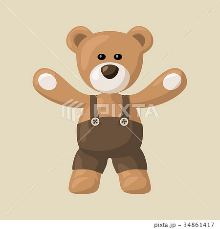 Teddy Bear with Pants 34861417