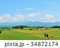 北海道 青空と北の大地 34872174
