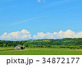 青空 快晴 北海道の写真 34872177