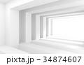 抽象 近代的 モダンのイラスト 34874607