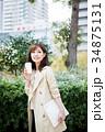 女性 若い コーヒーの写真 34875131