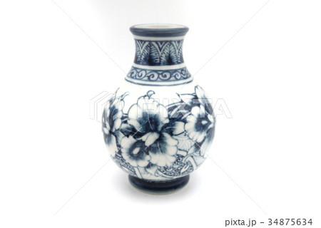 花瓶 つぼ 花器の写真素材 [34875634] - PIXTA