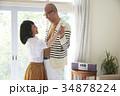 ダンスをするシニア夫婦 34878224