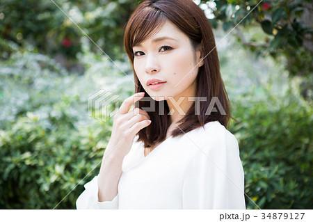 女性 ビューティイメージ 34879127