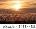 夕暮れ 空 夕方の写真 34884438
