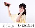 ミドル女性、お財布、空っぽ、困る 34891314