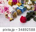 クリスマス クリスマスイメージ オーナメントの写真 34892588