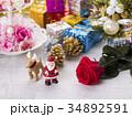 クリスマス クリスマスイメージ オーナメントの写真 34892591