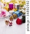 クリスマス クリスマスイメージ オーナメントの写真 34892592