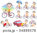 人々 人物 老人のイラスト 34899376