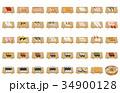 寿司 鮨 握り寿司のイラスト 34900128