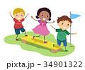ドラマー キッズ 子供のイラスト 34901322