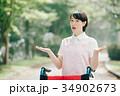 女性 若い 介護士の写真 34902673
