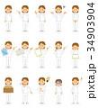 15シリーズ_介護士の女性 34903904