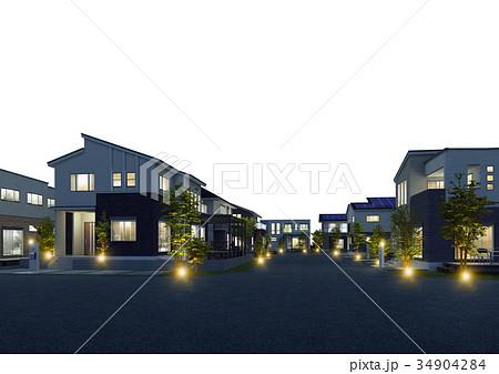 街並み 夜景 34904284