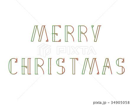 メリークリスマスのイラスト素材 [34905058] , PIXTA