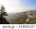 渋峠より芳ヶ平湿地群を望む 34909197