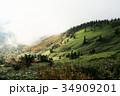 渋峠より芳ヶ平湿地群を望む 34909201