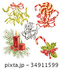 Best Christmas Wishes- phrase. Holiday lettering 34911599