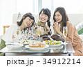 女性 女子会 プレゼントの写真 34912214