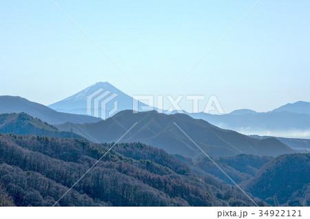 富士山(八ヶ岳高原大橋 12月) 34922121