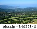 静岡県伊東市 大室山山頂からの伊東の市街 34922348