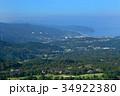 静岡県伊東市 大室山山頂からの伊東市街 34922380