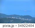 静岡県伊東市 大室山山頂からの初島 34922404
