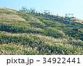静岡県伊東市 大室山とリフト 34922441