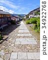 馬籠宿 中山道 街道の写真 34922768