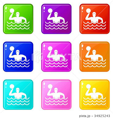 Water polo set 9 34925243