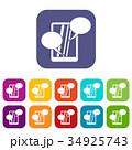 コレクション 収蔵物 収集のイラスト 34925743