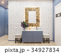 3d illustration of the interior design of an 34927834