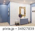 3d illustration of the interior design of an 34927839