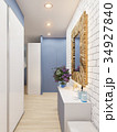 3d illustration of the interior design of an 34927840