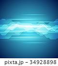 テクノロジー バックグラウンド バックグランドのイラスト 34928898