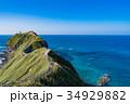 自然風景 青空 神威岬の写真 34929882