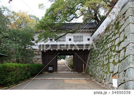 岡山城 廊下門 34930356
