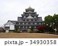 岡山城 復元天守 烏城の写真 34930358