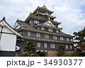 岡山城 復元天守 烏城の写真 34930377