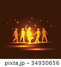 ダンスする子供達 34930656