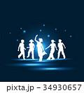 ダンスする子供達 34930657