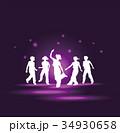 ダンスする子供達 34930658