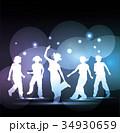 ダンスする子供達 34930659