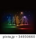 ダンスする子供達 34930660