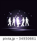 ダンスする子供達 34930661